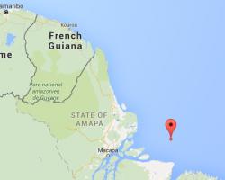 Richtung French Guiana